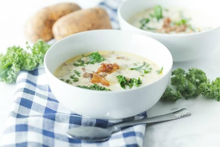 Zuppa Toscana Sausage Potato Soup