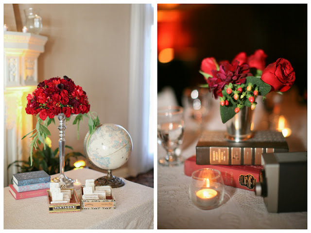 vintage travel-inspired wedding by Troy Grover Photography