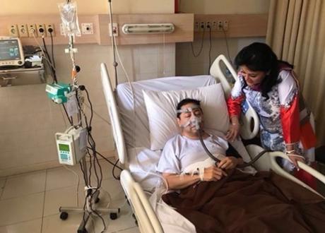 Politisi Golkar Sebut Setya Novanto Masih Terbaring Gunakan Infus dan Belum Ada Persiapan Pulang