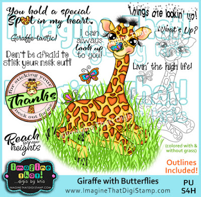 http://www.imaginethatdigistamp.com/store/p947/Giraffe_with_Butterflies.html