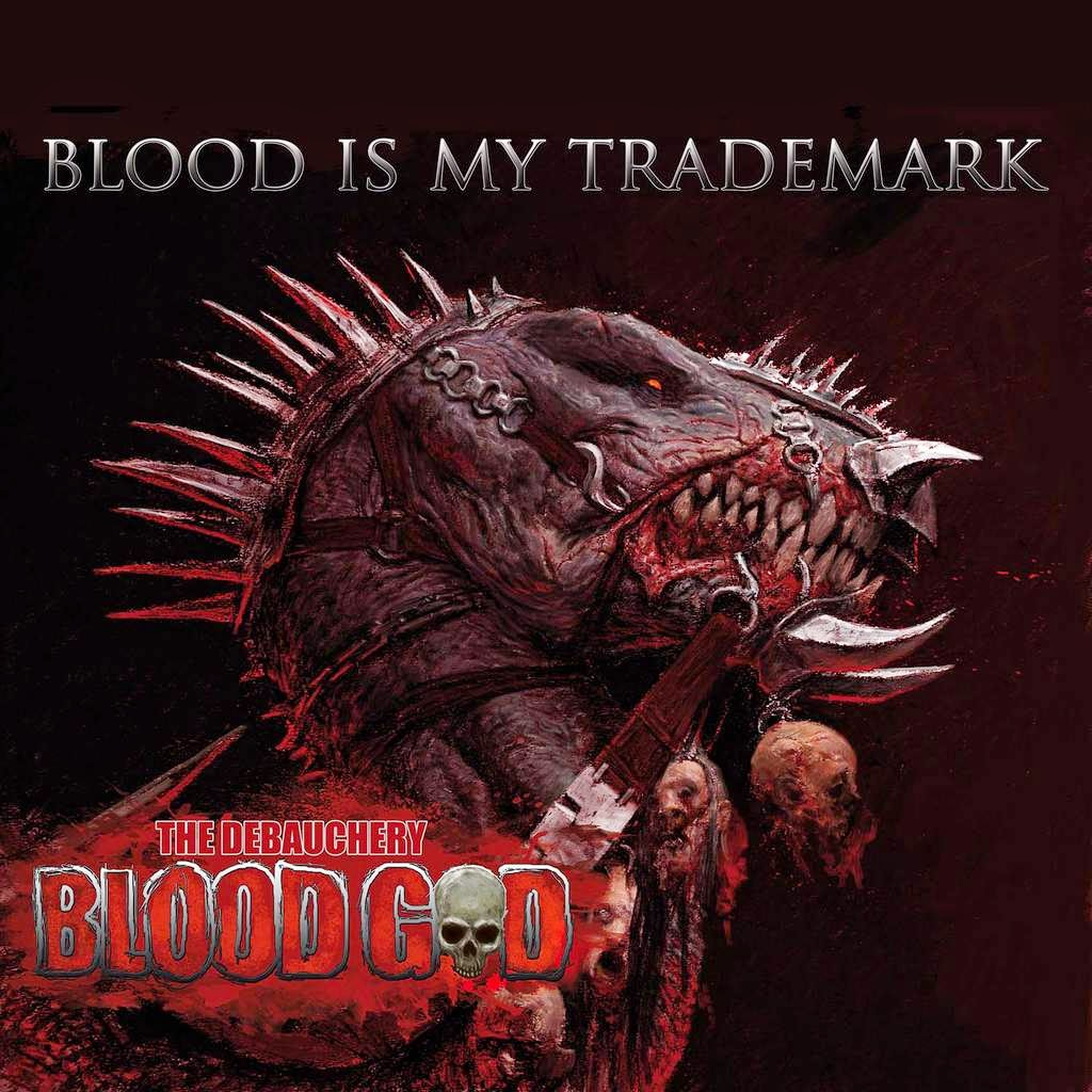 Blood God - 'Blood is My Trademark' CD Review (Massacre Records)