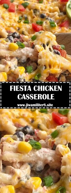 ★★★★★ 390 Ratings :  FIESTA CHICKEN CASSEROLE #Instantpot #Bangbang #Shrimp #Pasta #vegan #Vegetables #Vegetablessoup #Easydinner #Healthydinner #Dessert #Choco #Keto #Cookies #Cherry #World #foodoftheworld #pasta #pastarecipes #dinner #dinnerideas #dinnerrecipes #Healthyrecipe