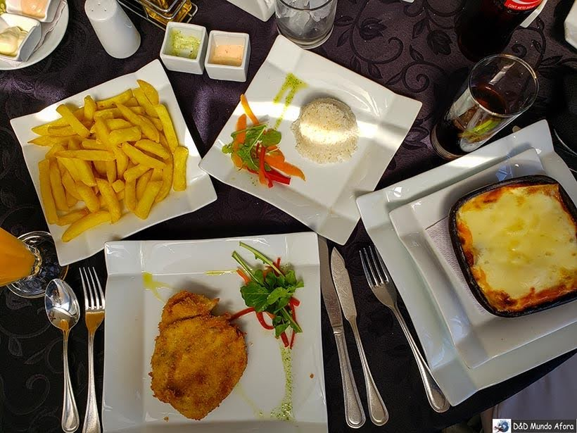 Almoço no restaurante Castillo del Mar em Viña del Mar - Diário de Bordo Chile: 8 dias em Santiago e arredores