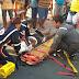 Acidente na rua São Vicente deixa homem ferido