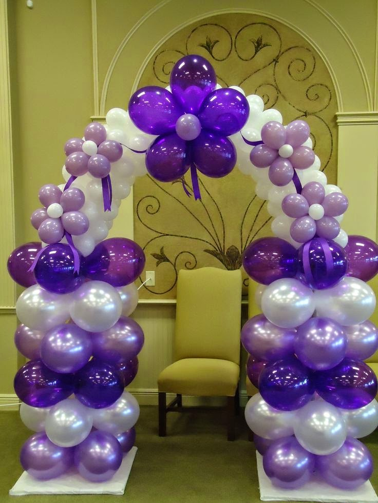 Imagenes fantasia y color ideas decoraciones para for Balloon decoration instructions