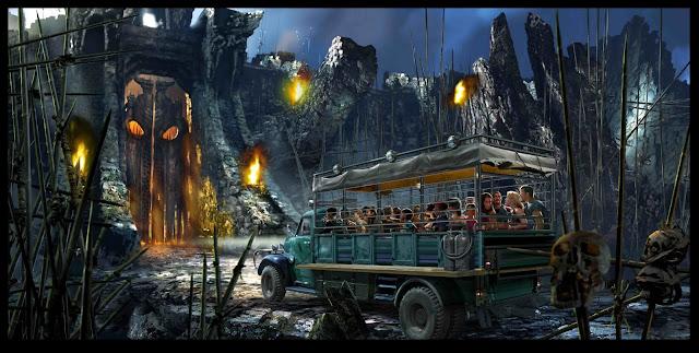Nova atração King Kong no parque Islands of Adventure, na Universal, em Orlando