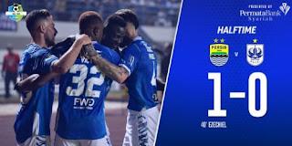 HT: Persib Bandung vs PSIS Semarang 1-0 Liga 1 Minggu 8/7/2018.