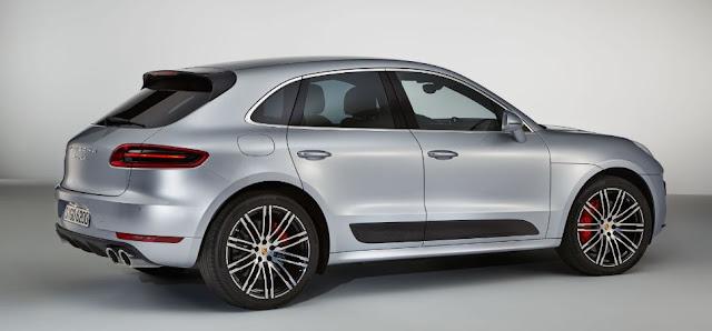 Diseño imponente y agresivo para la nueva versión del Porsche Macan Turbo 2017
