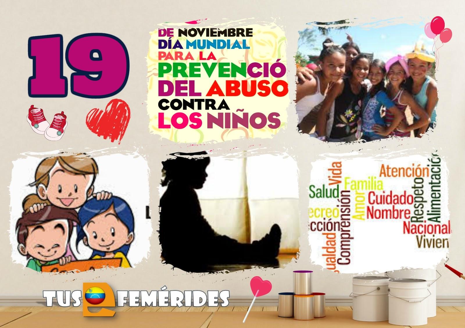Tus Efemérides Escolares 19 De Noviembre Día Mundial Para