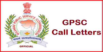 GPSC Main Exam Call Letter