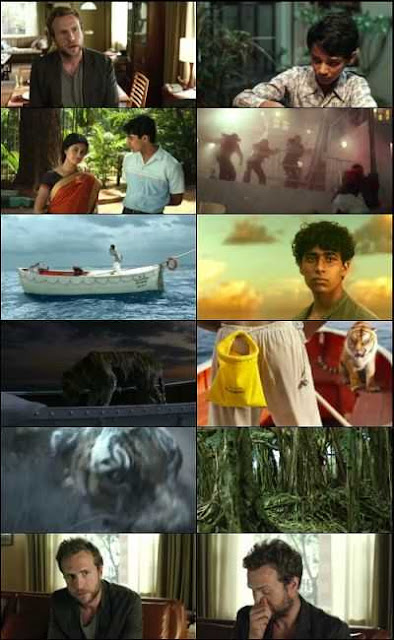 Life Of Pi 2012 Multi Audio Hindi - Tamil -Telugu - English 600mb BDRip