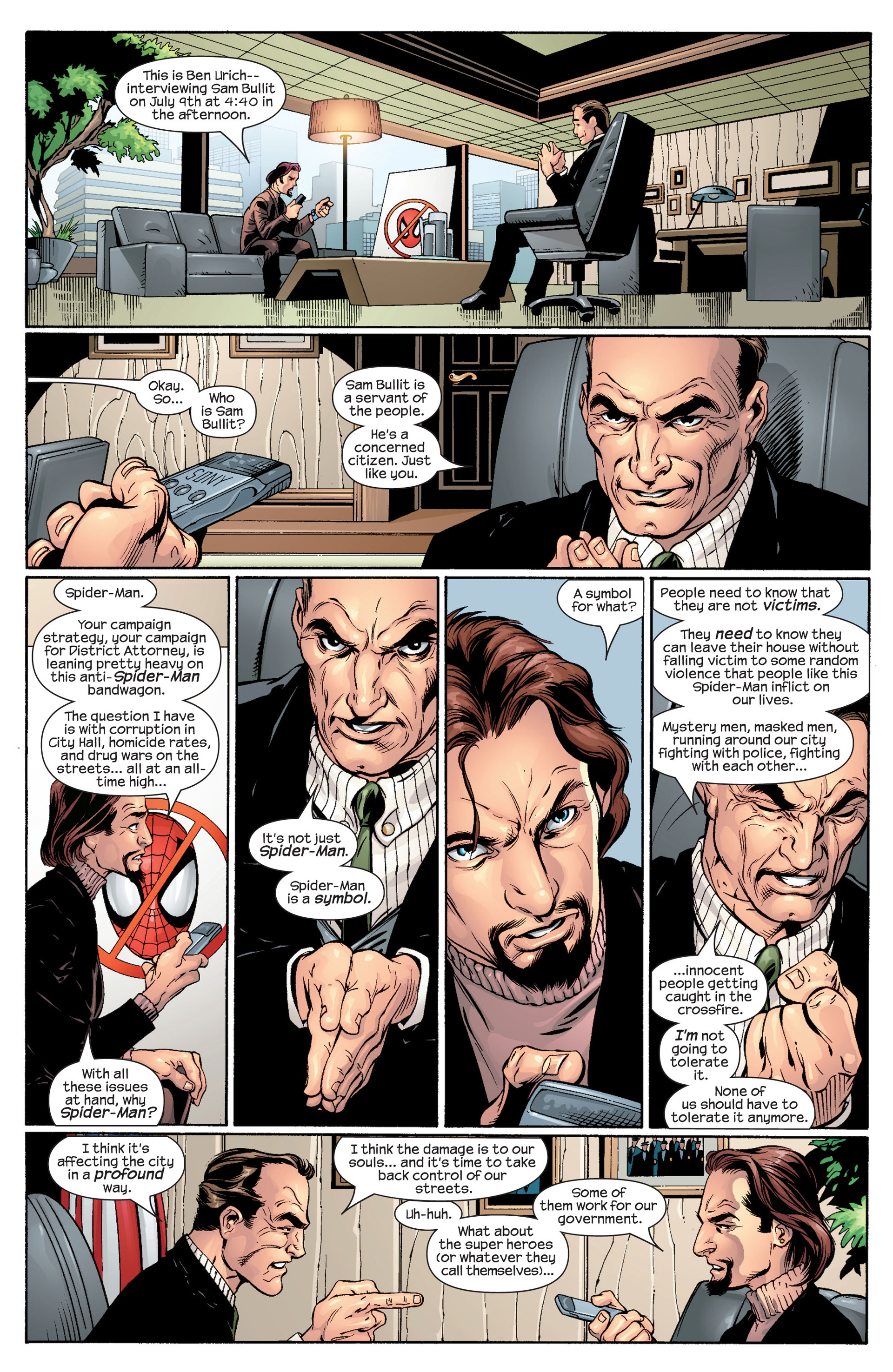 Read online Ultimate Spider-Man (2000) comic -  Issue #48 - 15