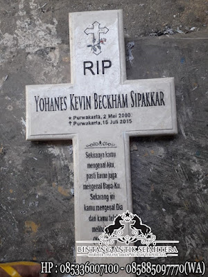 Nisan Kuburan Kriten, Nisan Makam Marmer, Batu Nisan Kuburan Kristen