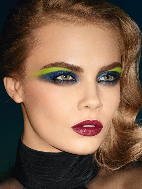 Beauty Plus Video: Doha Beauty Plus: Yves Saint Laurent Fall 2013 Makeup