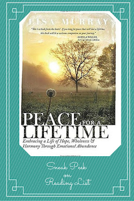 Peace for a Lifetime by Lisa Murray a Sneak Peek on Reading List