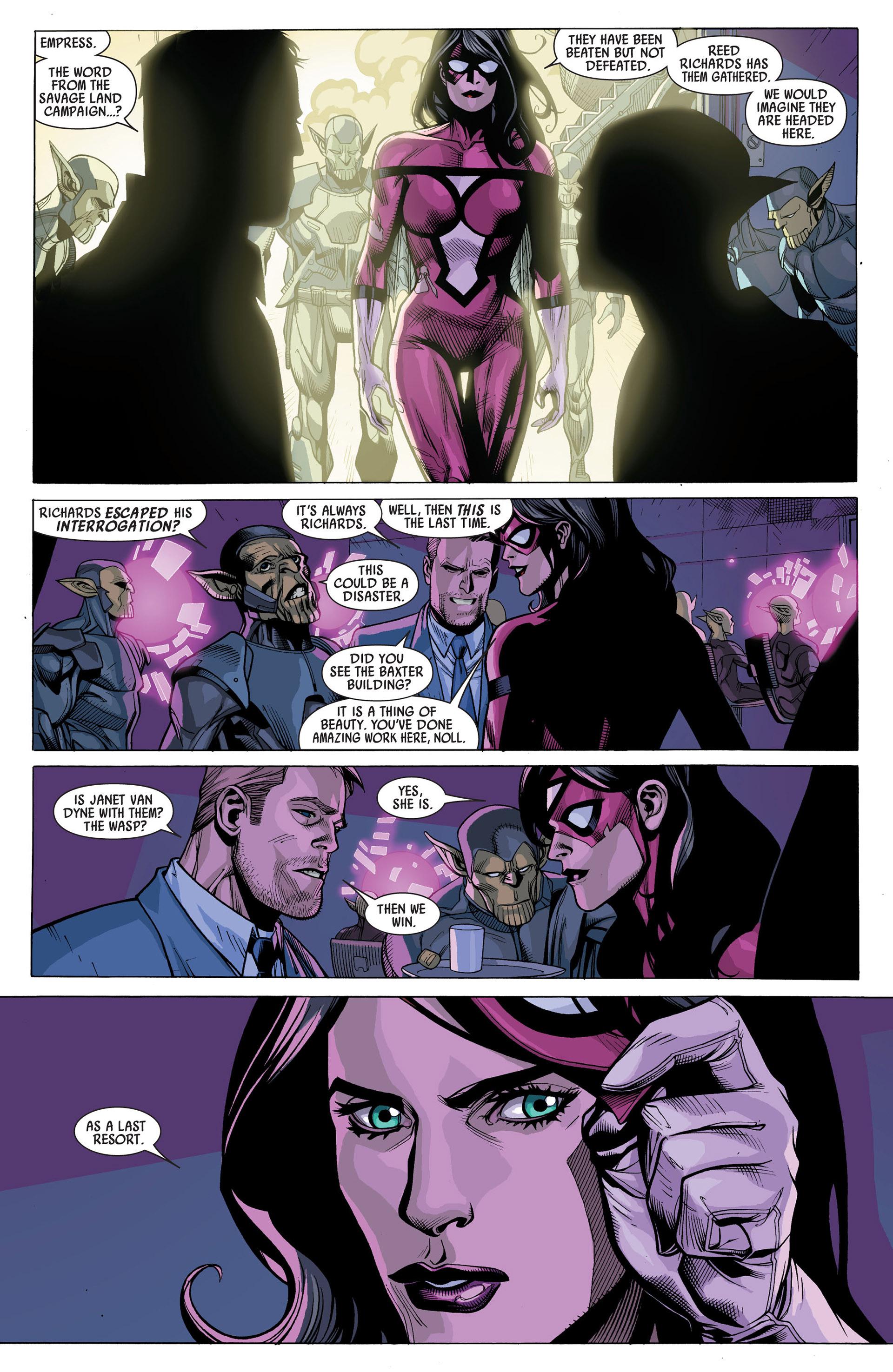 Read online Secret Invasion comic -  Issue #6 - 8