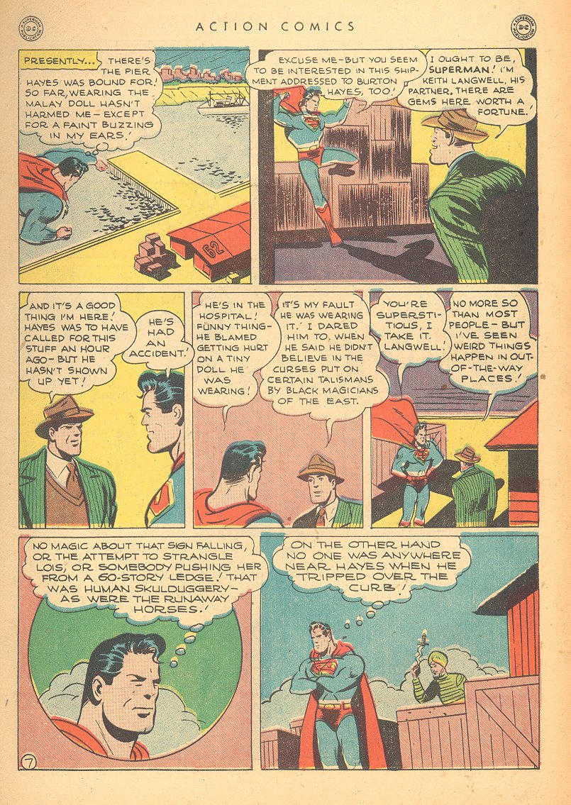 Read online Action Comics (1938) comic -  Issue #99 - 9