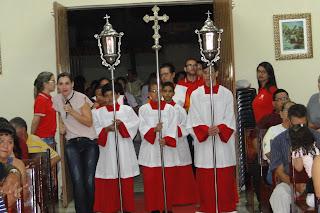 CSJD celebra missa em Ação de Graças por seus alunos formandos...