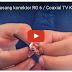 Memasang Konektor RG 6 / Coaxial TV Kabel dengan Peralatan Sederhana