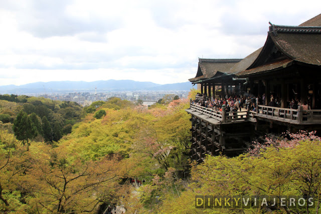 Vistas de Kioto desde Kiyomizu-dera