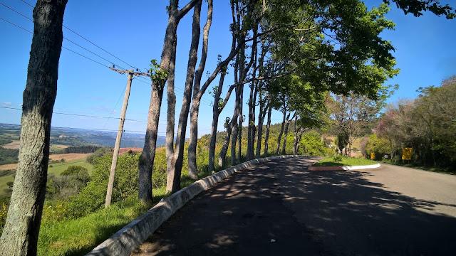 Belvedere às margens da RS-129, Guaporé, RS