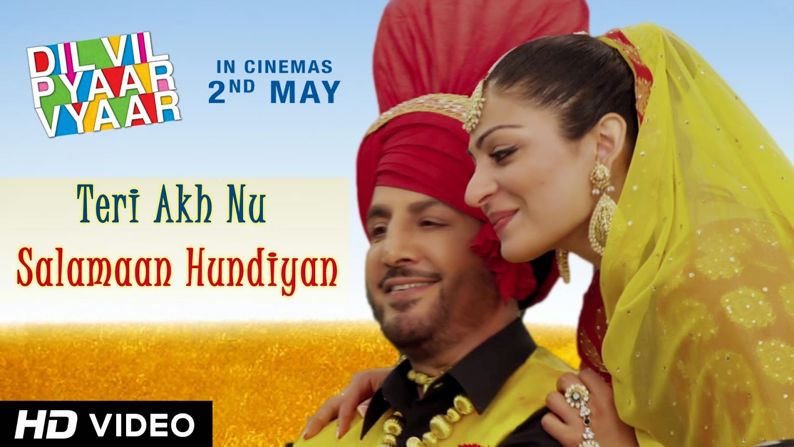 TERI AKH NU SALAMAAN HUNDIYAN SONG LYRICS / VIDEO | GURDAS MAAN | DVPV