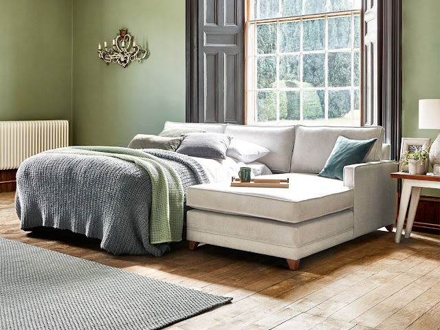 the aldbourne chaise sofa bed willow and hall
