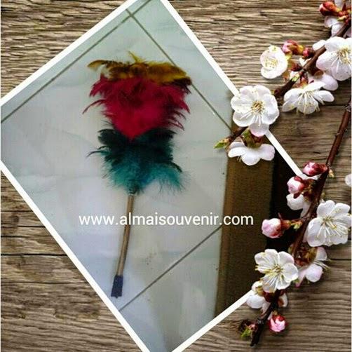 souvenir kemoceng sulak souvenir alat rumah tangga