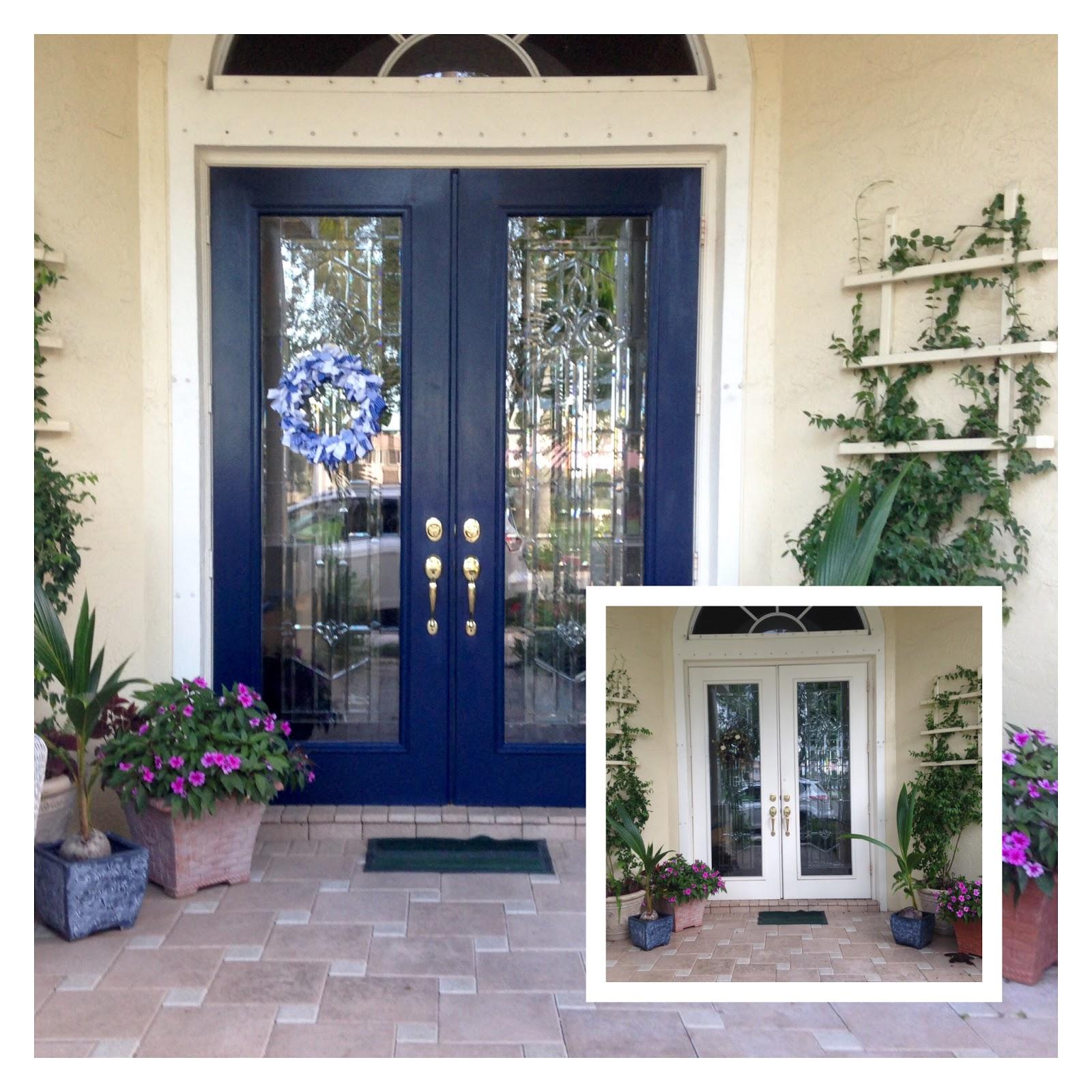 Blue Front Door : May days my blue front door