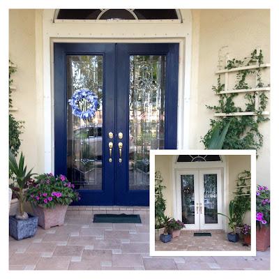 Blue Front Door may days: my blue front door