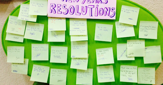 My students' New Year's Resolutions