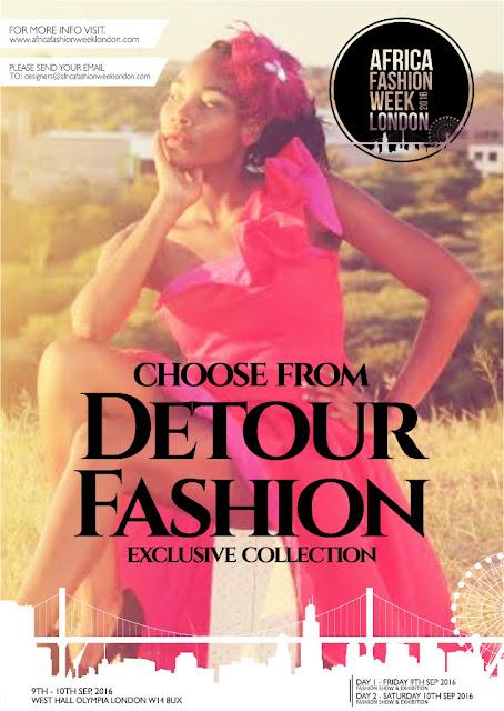 Detour Fashions at Africa Fashion Week London 2016