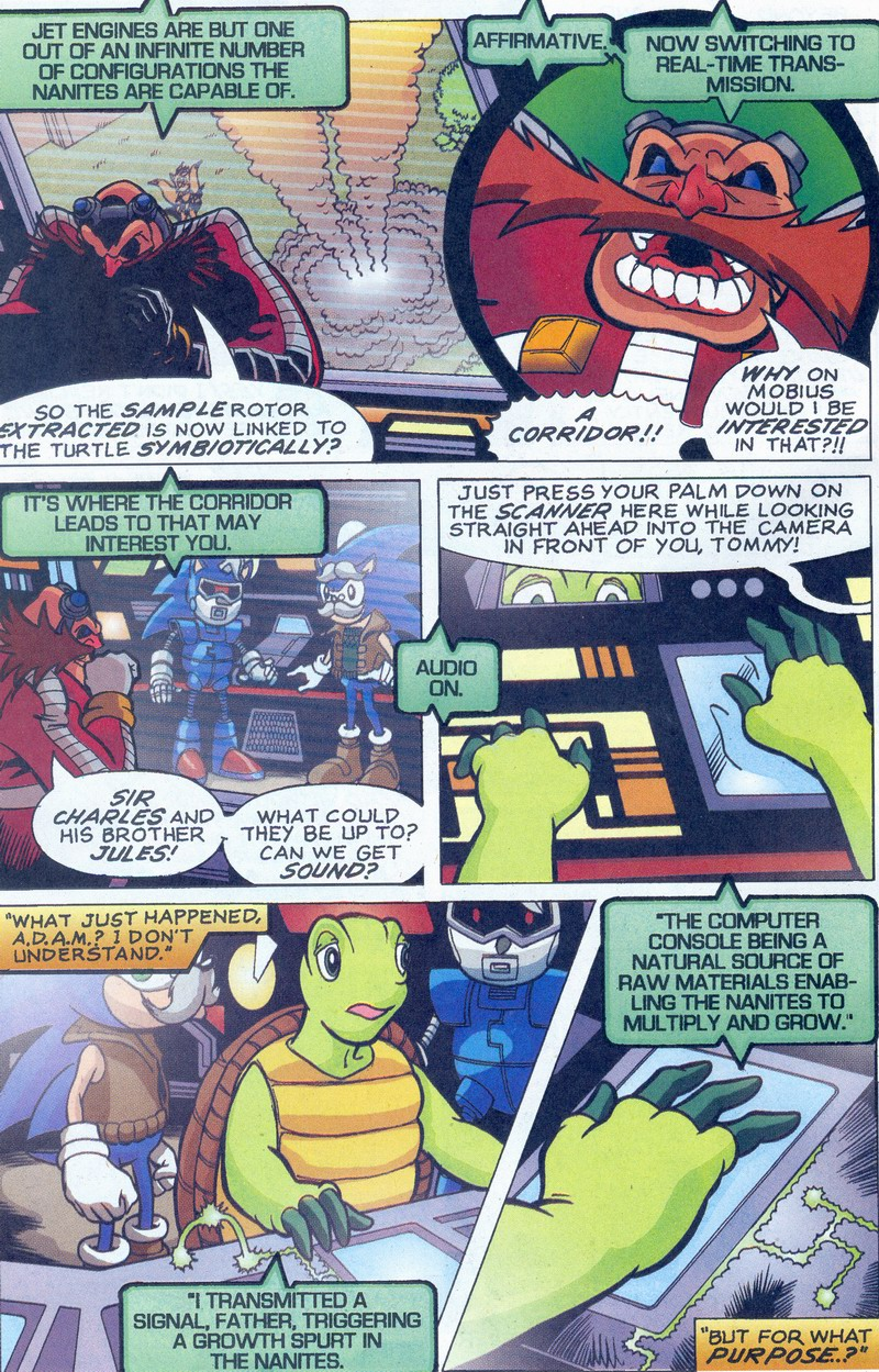 Read online Sonic The Hedgehog comic -  Issue #159 - 20