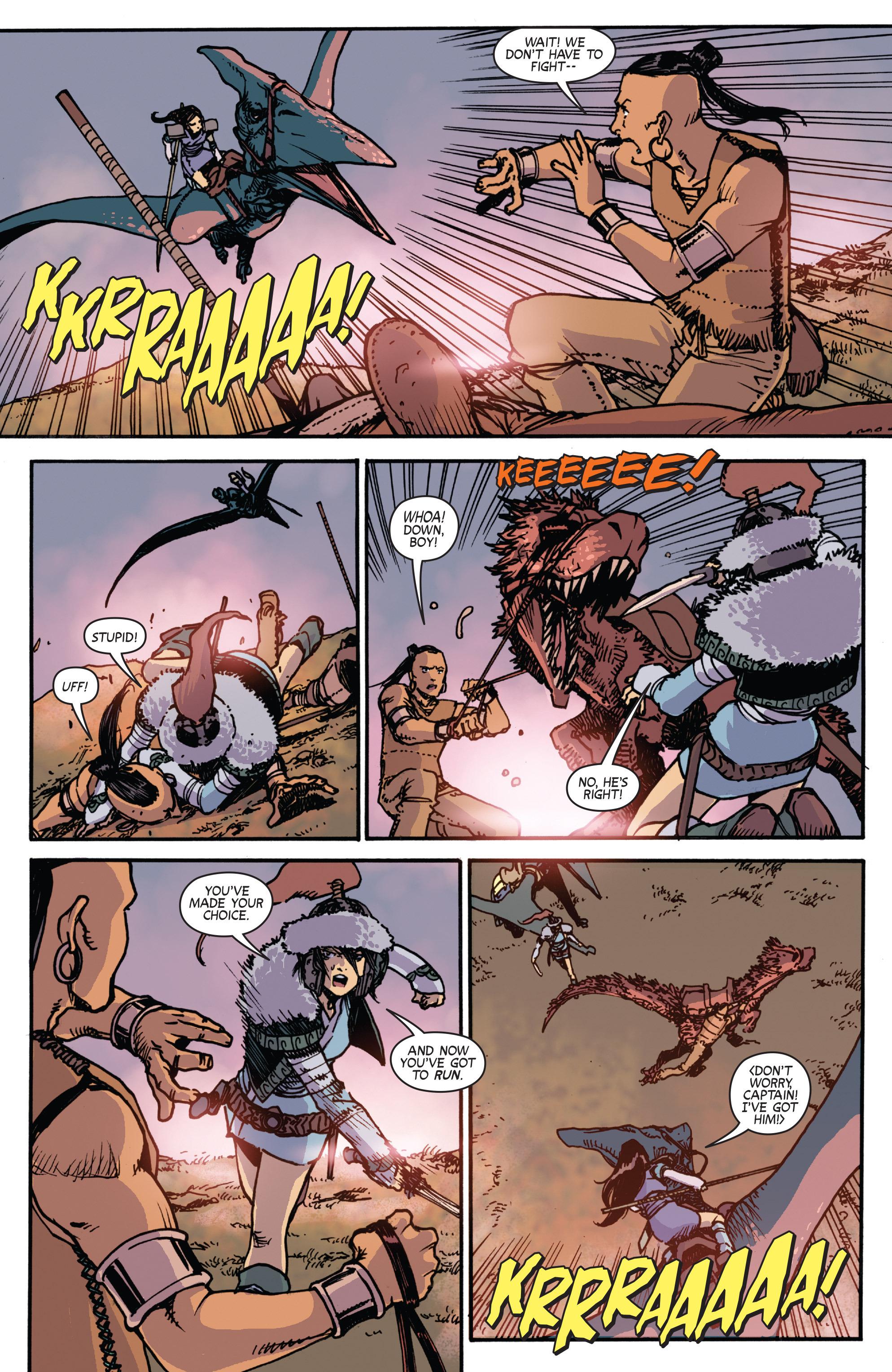 Read online Turok: Dinosaur Hunter (2014) comic -  Issue # _TPB 2 - 68