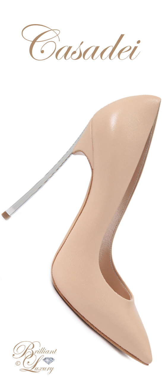 Brilliant Luxury ♦ Casadei Blade Pumps