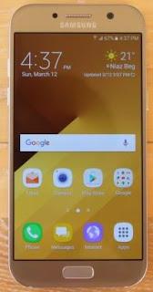 Cara Mengambil Tangkapan Layar / Screenshot Samsung Galaxy A5 (2017)