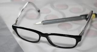 foto occhiali da vista alla moda