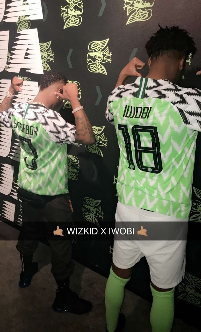Wizkid, Iwobi and Mikel Join Nike to unveil new Super Eagles Jersey