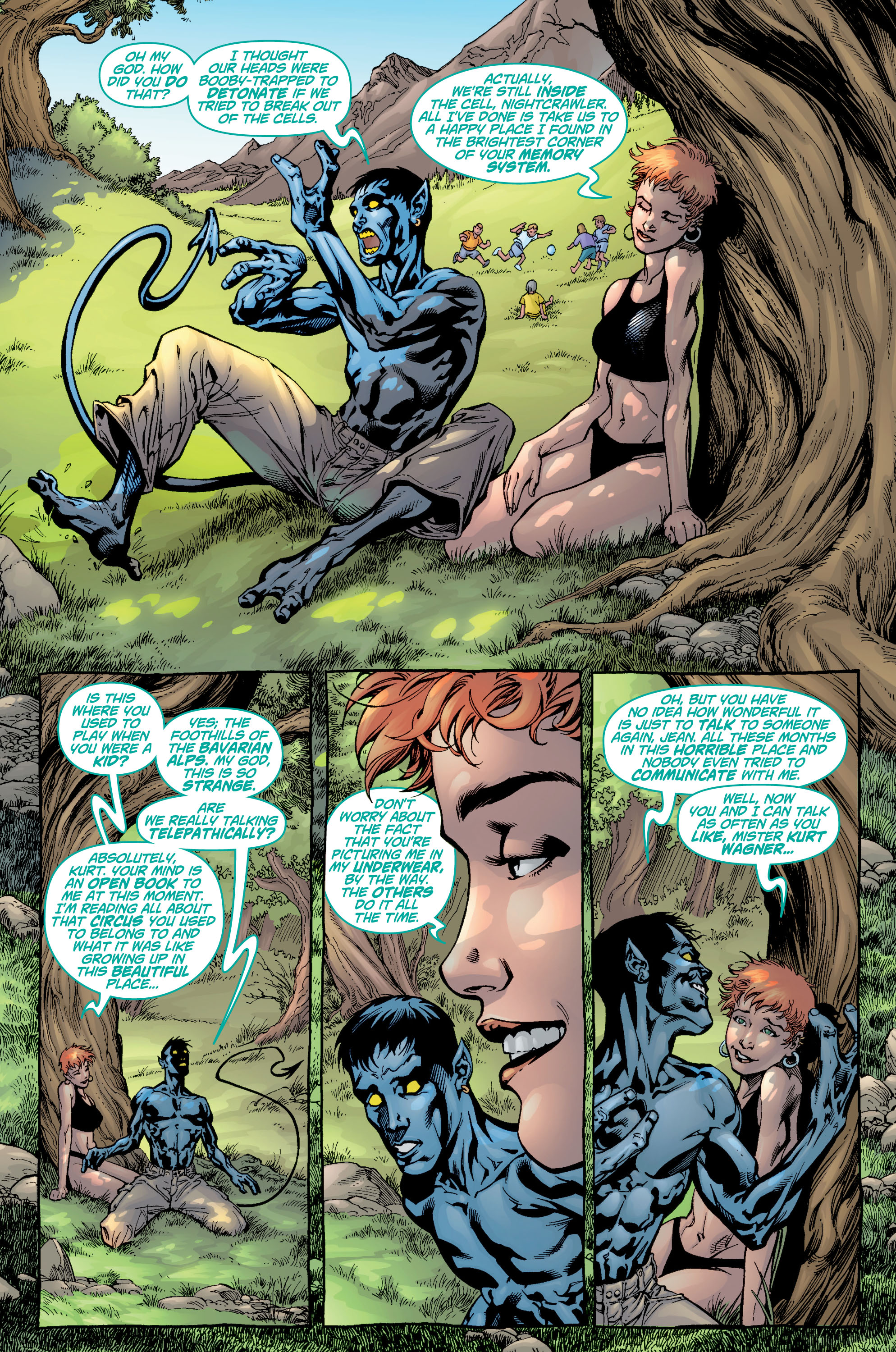 Read online Ultimate X-Men comic -  Issue #9 - 19