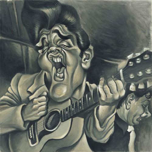 """""""Elvis Presley 2"""" por Joan Vizcarra"""