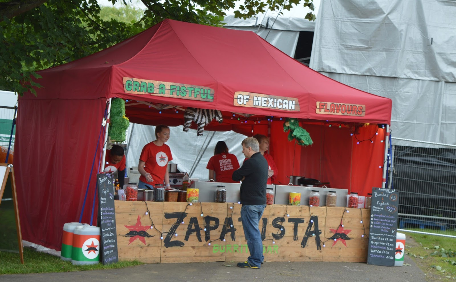 Corbridge Festival 2016 - A Review - Zapatista