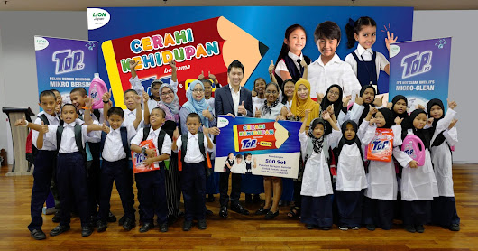 A Brighter Future With TOP Back-To-School CSR Campaign In Collaboration With MYDIN