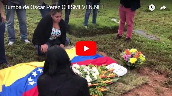 Familiares confirman que Oscar Perez no fue enterrado en el Cementerio del Este