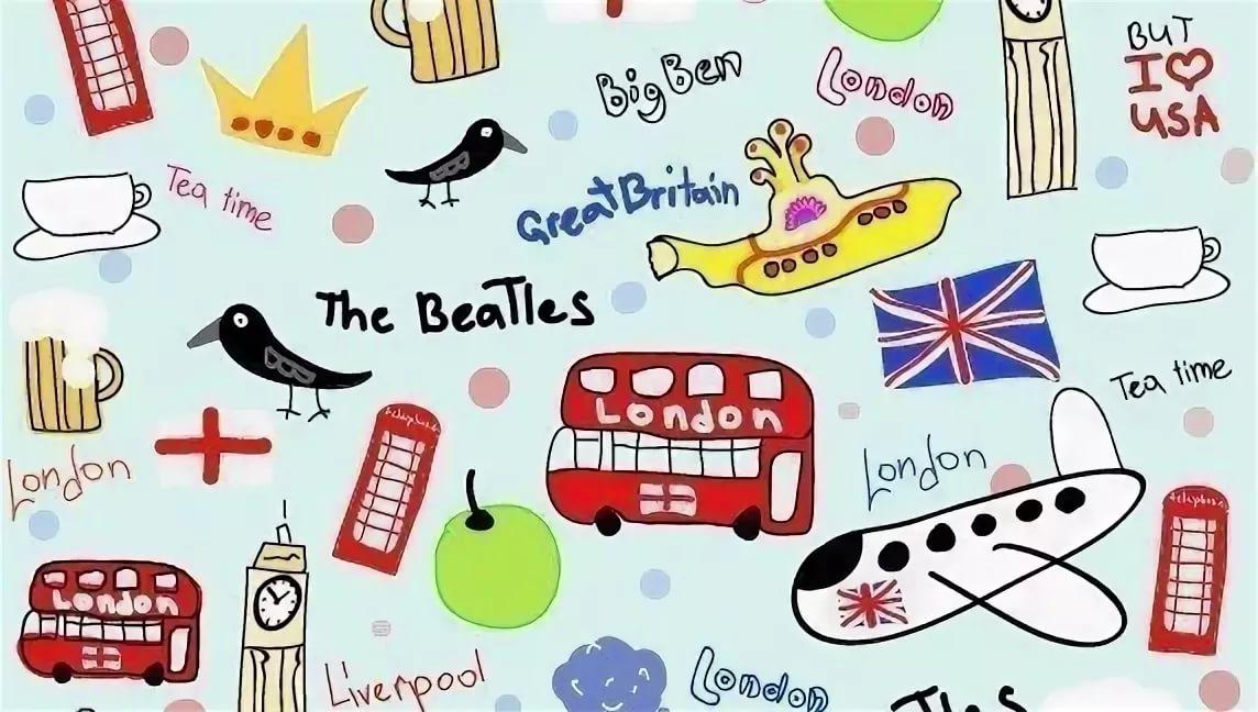 Картинки ко дню английского языка