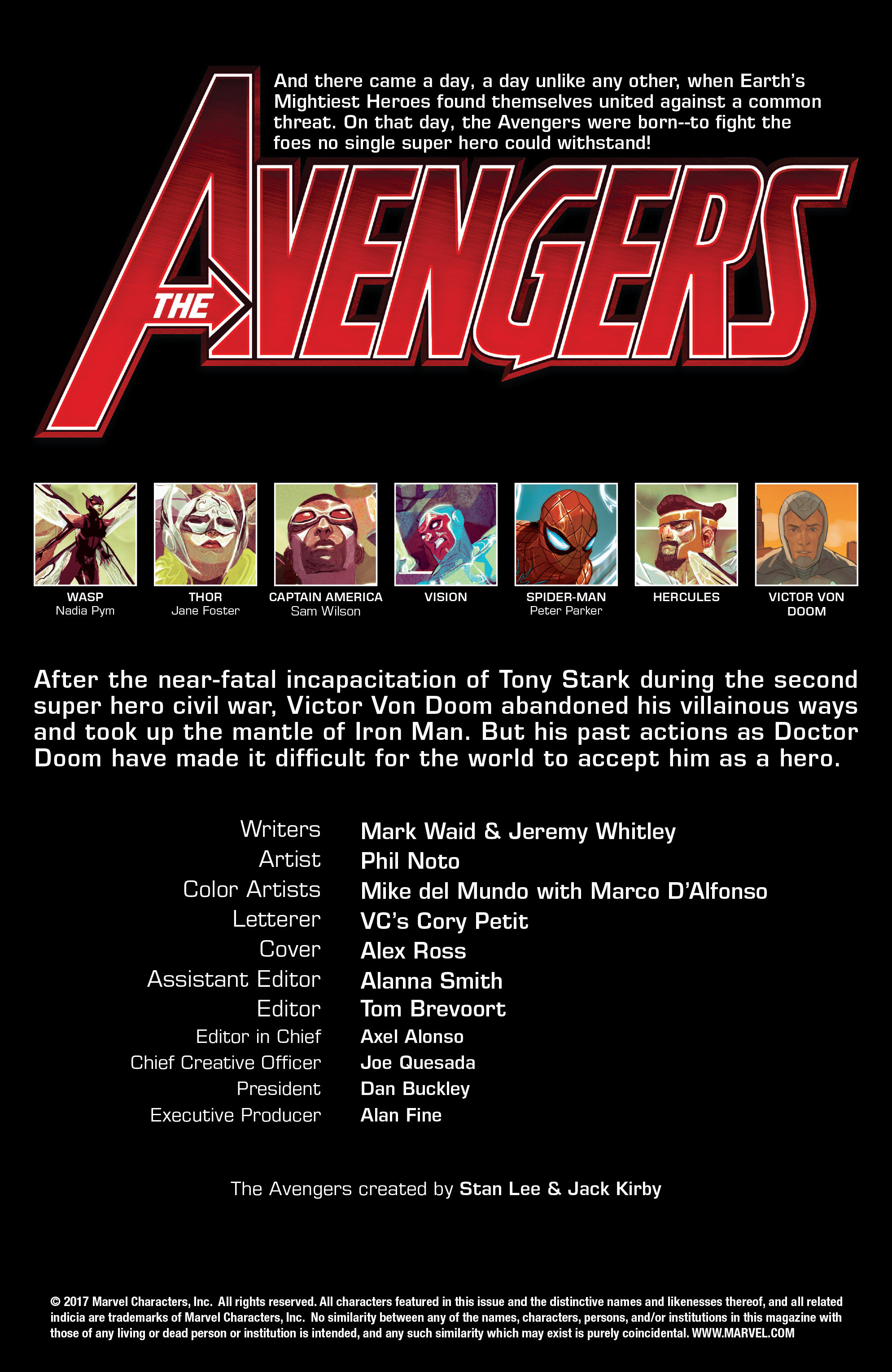 Read online Avengers (2016) comic -  Issue #7 - 2