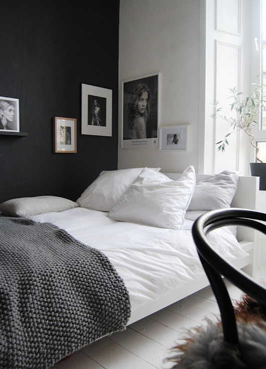 The Best of Black and White Bedrooms - Emily May