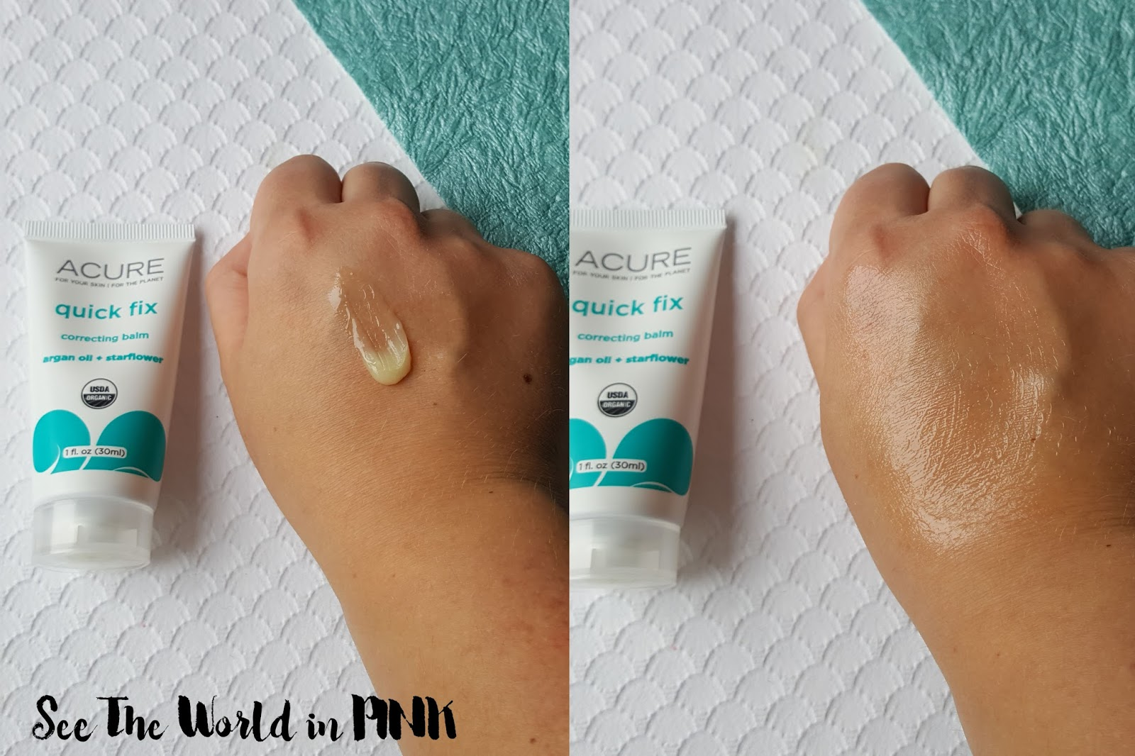 Skincare Sunday - Acure Organics Body Lotions and Correcting Balm Reviews