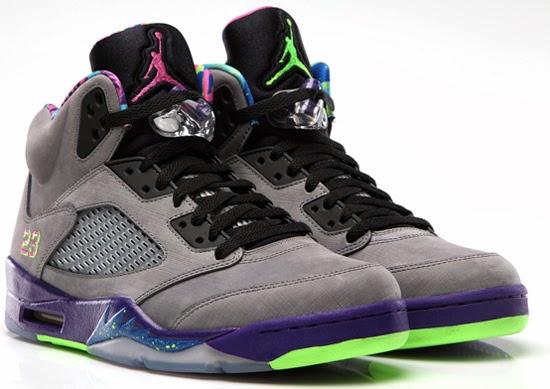 Cheap 2015 Nike Air Jordan 5 Retro Bel-Air Cool Grey Court Purpl