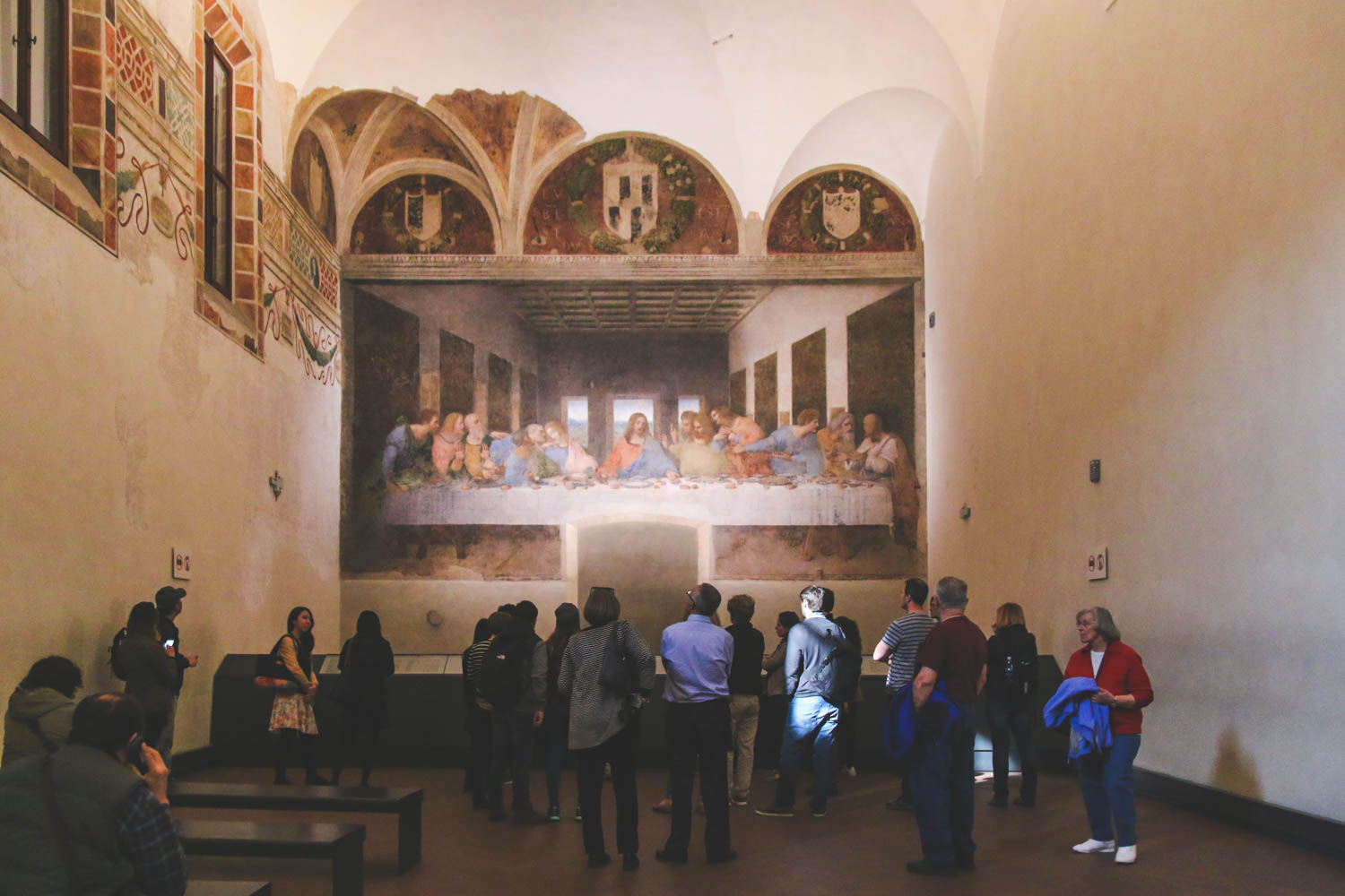 The Last Supper And Scenes From Milan The Journey Of