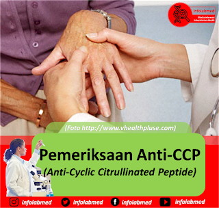 Pemeriksaan Anti-CCP (Anti-Cyclic Citrullinated Peptide)